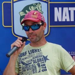 Benoit Nicoli, l'expert du wacky nous explique leur 2 ème manche.